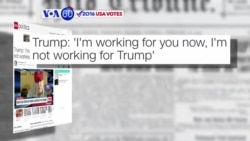 VOA60 Elections - CNN: Donald Trump defends his tax policies