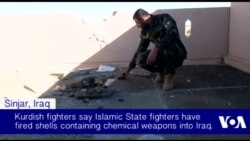 Kurdish Fighters Allege IS Chemical Attack