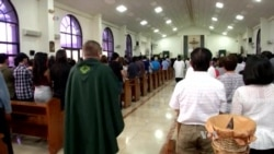 Guam's Faithful Pray for Peace Amid Concerns About Possible North Korean Attack