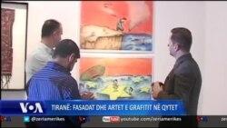 Fasadat dhe artet e grafitit në Tiranë