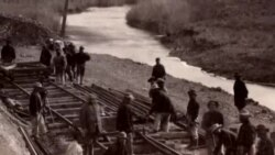 미 횡단철도 건설 중국인 노동자들