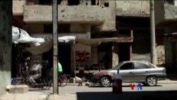 2017-08-04 美國之音視頻新聞: 敘利亞中部新停火協議星期四得到了執行 (粵語)