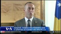 Kosovë: Thirrje për përmbyllje të çështjes së kufirit me Malin e Zi