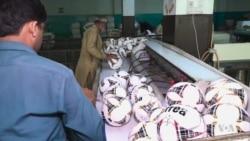 ปากีสถานผลิตลูกบอลแก่ฟีฟ่าช่วงเวิร์ดคัพ