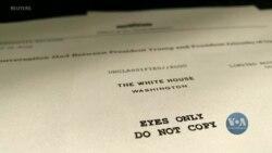 Білий Дім оприлюднив нотатки першої телефонної розмови президента Трампа з президентом Зеленським. Відео
