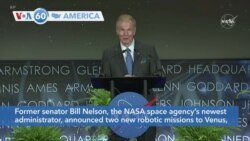 VOA60 Ameerikaa - NASA announces two new robotic missions to Venus