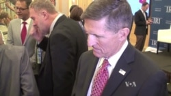 Michael Flynn, Trump's National Security Advisor speaks to VOA's Russian Service