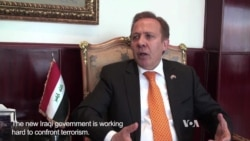 Baghdad's Ambassador to Egypt: Iraqis Looking to Rebuild