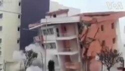 Ալբանիա. Քանդել են երկրաշարժից վնասված հյուրանոցը
