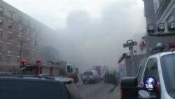 纽约楼房煤气泄漏引起爆炸 死亡人数升至七人