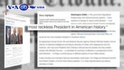 Ông Trump hứa 'cải cách thuế lớn nhất kể từ thời Tổng thống Reagan' (VOA60)