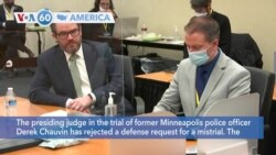 VOA60 Ameerikaa - US Jury Deliberates in Trial of Officer Charged with Killing George Floyd