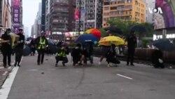 记者手记:首次目击10.20九龙大游行及激烈警民冲突