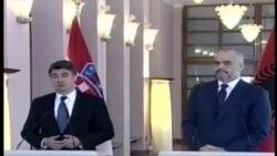 Kryeministri kroat mbështet Shqipërinë
