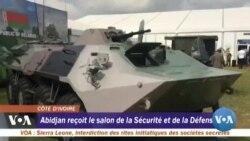 Abidjan reçoit le salon de la sécurité et de la défense