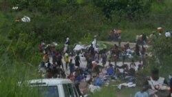 Des milliers de Congolais expulsés d'Angola bloqués à la frontière (vidéo)