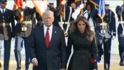 2017-09-11 美國之音視頻新聞: 川普出席911週年悼念活動 (粵語)
