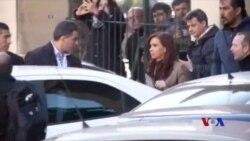 阿根廷前總統費爾南德斯以貪污腐敗罪被起訴