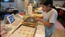 Kelas Virtual Membuat Kue Lebaran untuk Anak