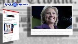 Tổ chức ủng hộ bà Clinton dành 6 triệu đôla cho quảng cáo (VOA60)