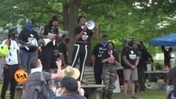 امریکہ میں پولیس کے خلاف مظاہروں کا تسلسل برقرار