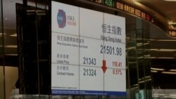 Global Markets, Oil, Sink on New Worries About China, Fed Rates