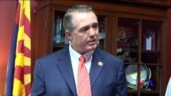 美國共和黨眾議員弗蘭克斯肯宣布辭職