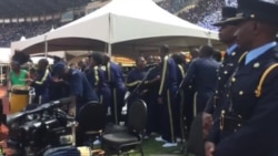 Zimbabwe National Police Band Performs at 37th Independence Anniversary