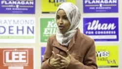 Ilhan Omar, première femme musulmane élue au Congrès (vidéo)