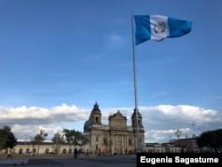 Vista de la Catedral de Guatemala en Ciudad de Guatemala. [Foto: Eugenia Sagastume, VOA]