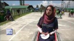 سرینگر: ویل چیئر باسکٹ بال