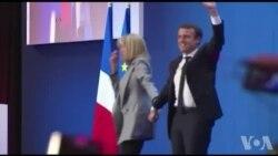 Macron remercie les appels à voter en sa faveur (vidéo)