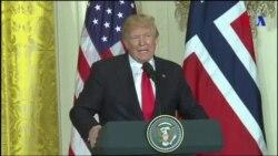 Trump affirme que les Etats-Unis pourraient revenir dans l'accord de Paris (vidéo)