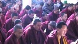 西藏流亡政府為自焚藏人舉行祈福法會