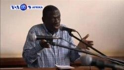 VOA60 Afrika:Kiongozi wa upinzani Uganda Kizza Besigye afikishwa tena mahakamani jumatano baada ya kushtakiwa kwa uhaini.