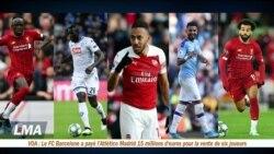 Page Sports : des Africains en lice pour le Ballon d'Or France Football 2019