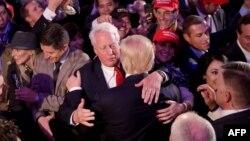 Robert i Donald Trump u New Yorku 9. novembra 2016. godine nakon održanih predsjedničkih izbora (Foto: AFP)