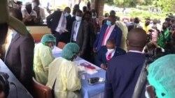 Zimbabwe Vice President Prepares to Take Covid 19 Vaccine