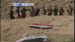 VOA60 DUNIYA: An Fara Tono Gawarwaki a Tikrit, Afrilu 7, 2015