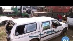 Fronteira Moçambique / África do Sul com tráfego pesado devido à Covid-19