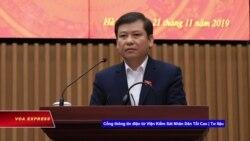 Viện trưởng Kiểm sát: Cần luật đăng ký tài sản để chống tham nhũng