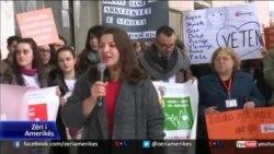 Tiranë, thirrje për më shumë mbrojtje për gruan