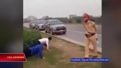 Bắc Giang: Vụ tài xế không đeo khẩu trang bị phạt hít đất gây tranh cãi