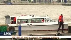Uber en bateau au Nigeria