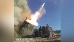 امریکی اور جنوبی کوریا کی میزائل شکن فوجی مشقیں