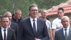 Vučić na Kosovu: Bez brige, nismo blizu dogovora