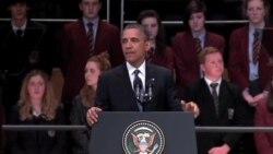 奧巴馬:北愛和平是解決世界衝突的藍圖