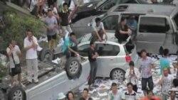 江蘇啟東人強力示威反污染 政府取消項目