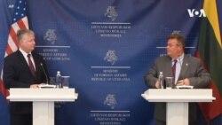美副國務卿訪問立陶宛描述中國威脅 或談及禁用華為
