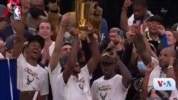 Ameriki NBA Sanfai Scheluw 2021 sebaya Milwaukee Bucks